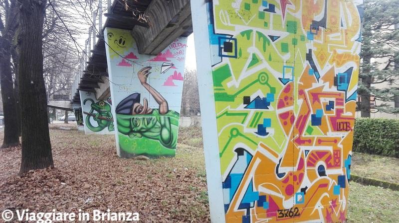 Cosa fare a Cantù, i murales di corso Europa