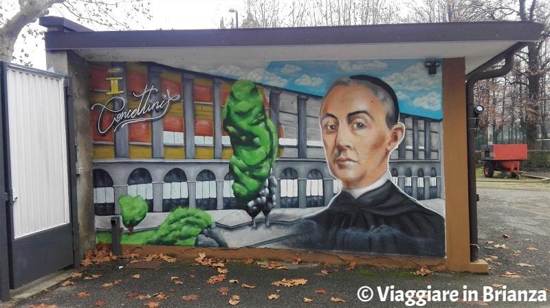 Cosa fare a Cantù, il murales di Luigi Monti