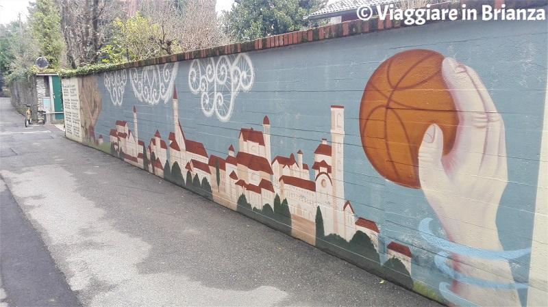 Cosa fare a Cantù, i murales di via Brambilla