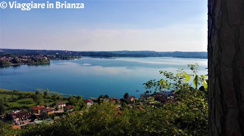 Il lago di Pusiano