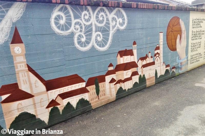 Murales in Brianza, via Brambilla a Cantù
