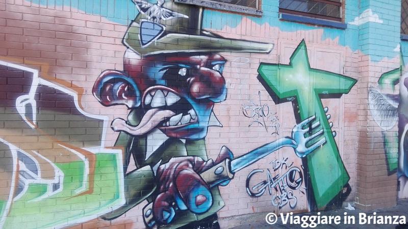 Street art in Brianza, i murales del Cai a Seregno