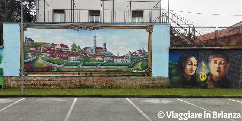 Street art in Brianza, il murales di Cantù