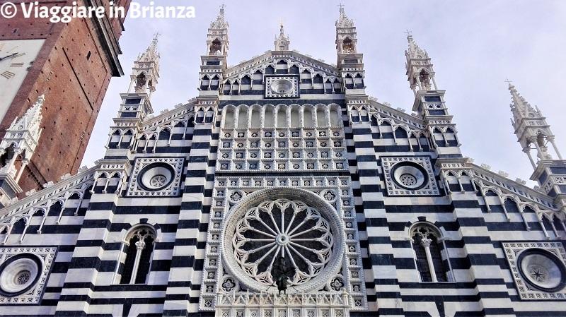 Il rosone del Duomo di Monza