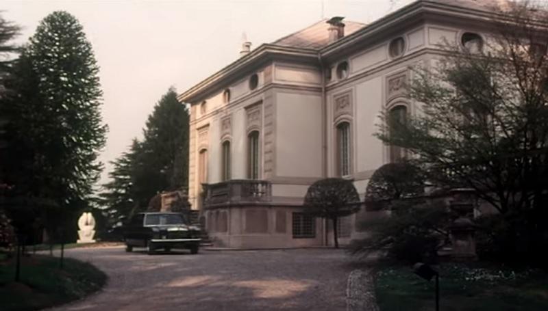 Villa Moratti a Imbersago in Come ti rapisco il pupo