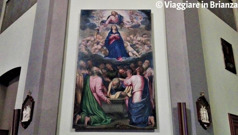 L'Assunzione della Madonna di Simone Peterzano