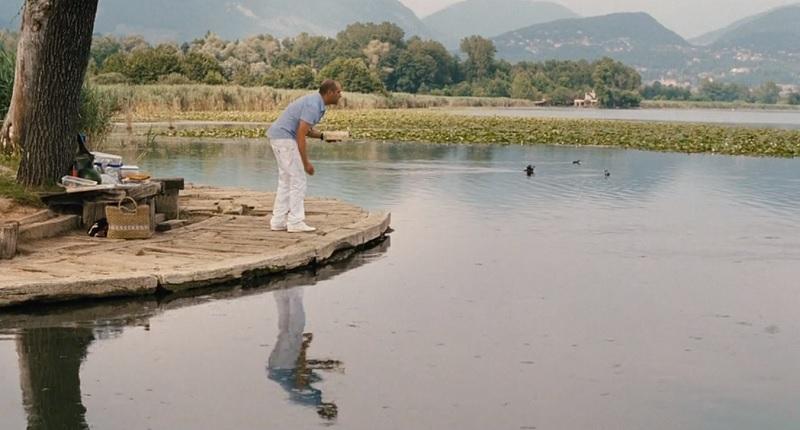 Checco Zalone al lago di Alserio