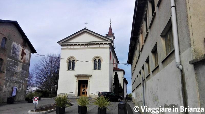 Cosa fare a Vertemate con Minoprio, la Chiesa di Santa Maria Assunta