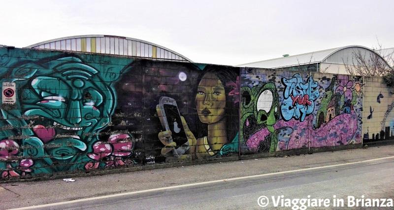 I murales di Barlassina in via XXV Aprile