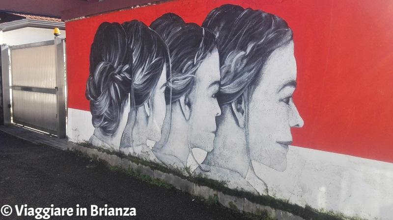 Orizzonti, il murales di Monza di Paolo Monga