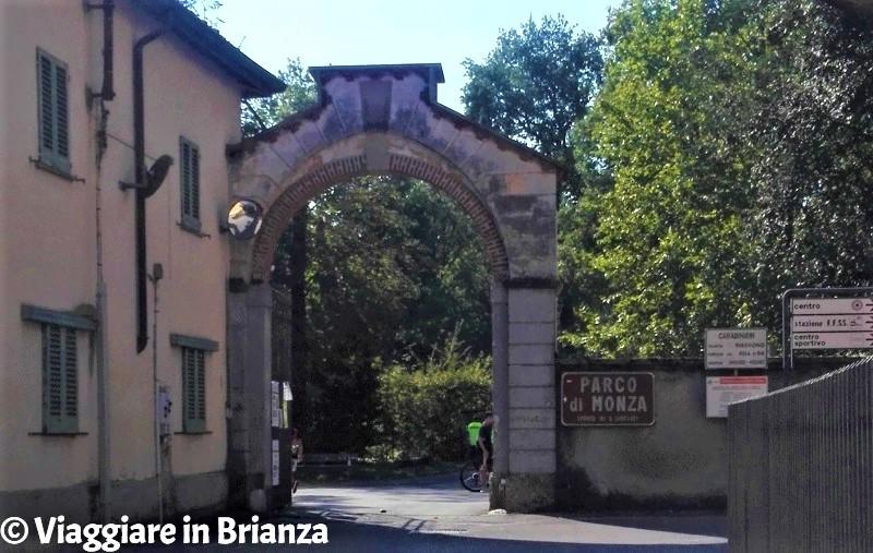 Porta San Giorgio a Biassono nel Parco di Monza