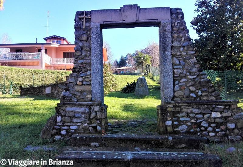 Il portale della Chiesa di Santa Brigida