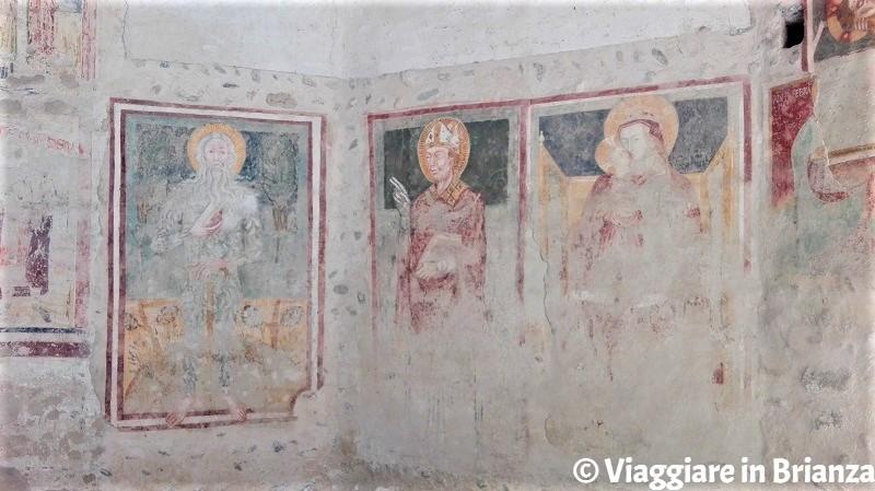 Sant'Onofrio, San Biagio e la Madonna con Bambino