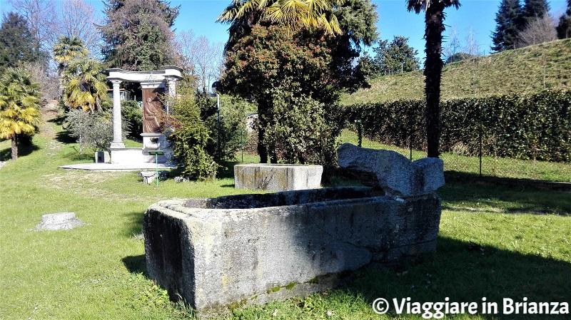 Sarcofagi nel Parco storico archeologico di Sant'Agostino