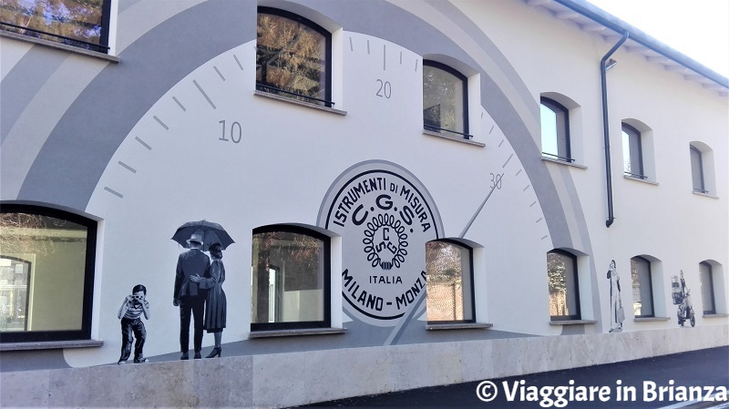 Street art in Brianza: Monza, via Solferino