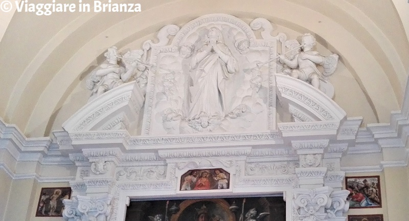 Il bassorilievo dell'Assunzione nella Chiesa di Torricella a Barzanò