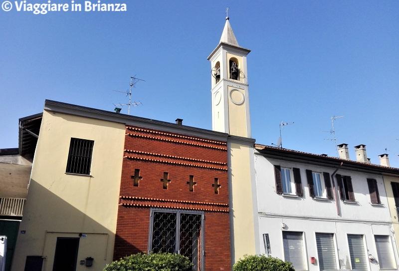 Il campanile della Chiesa di Santa Margherita a Lissone