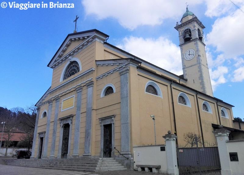 Capiago Intimiano, la Chiesa dei Santi Vincenzo e Anastasio