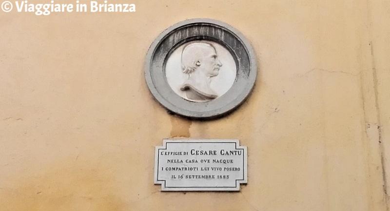 La casa natale di Cesare Cantù a Brivio
