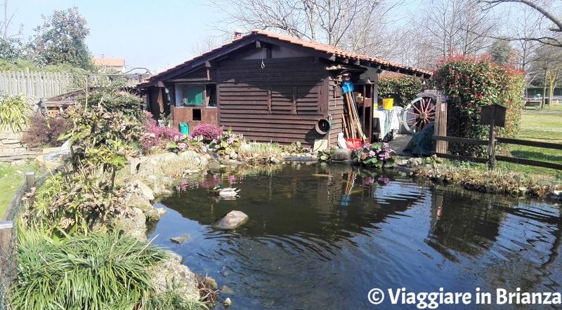 La casetta degli attrezzi del Parco della Ghiringhella