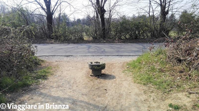 Cesano Maderno, Oasi Lipu: l'ingresso da via Groane