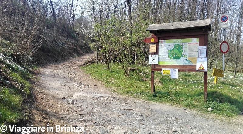 Cesano Maderno, Oasi Lipu: l'inizio della pista ciclabile
