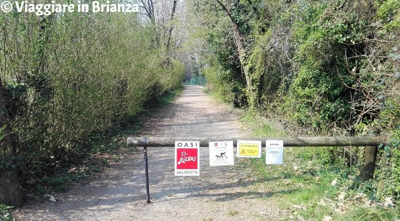 Cesano Maderno, Oasi Lipu: la pista ciclabile 23