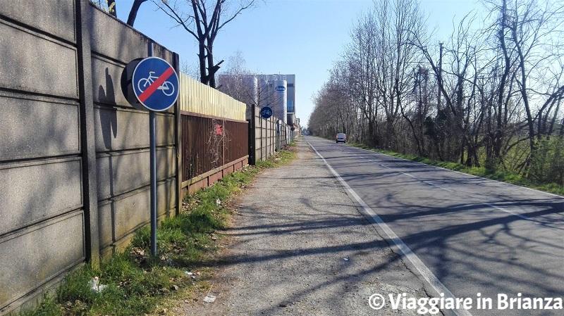 Cesano Maderno, via Groane