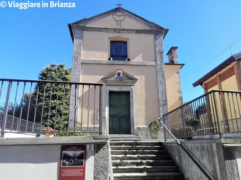 La Chiesetta di Torricella a Barzanò