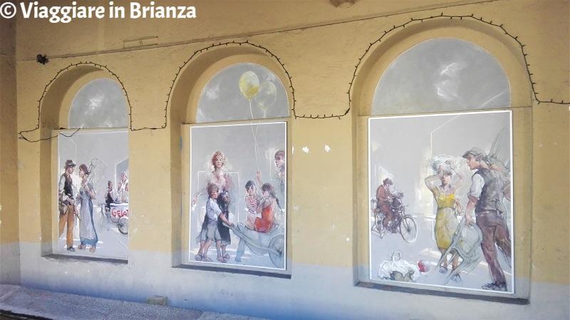 Cosa fare a Barzanò, i dipinti di Vanni Saltarelli nella Fontana del Pen