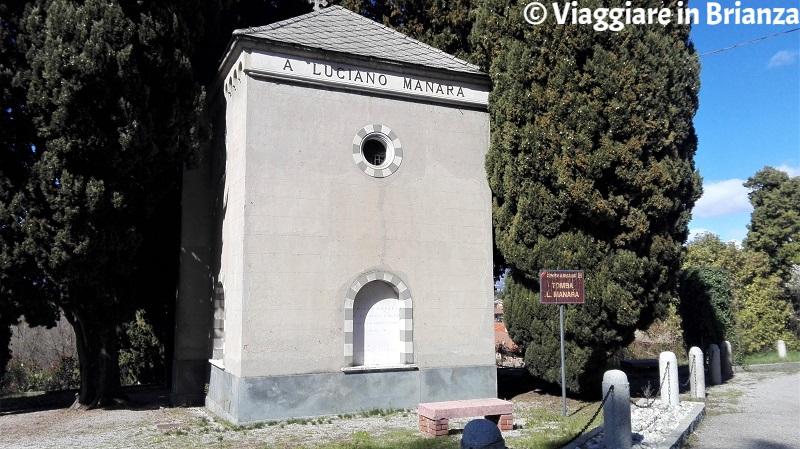 Cosa fare a Barzanò, la tomba di Luciano Manara