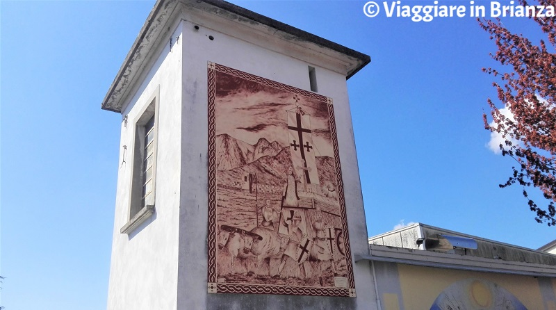 Cosa fare a Capiago Intimiano, il murale del Carroccio