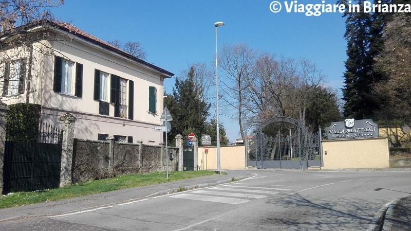 Cosa fare a Lesmo, Villa Mattioli