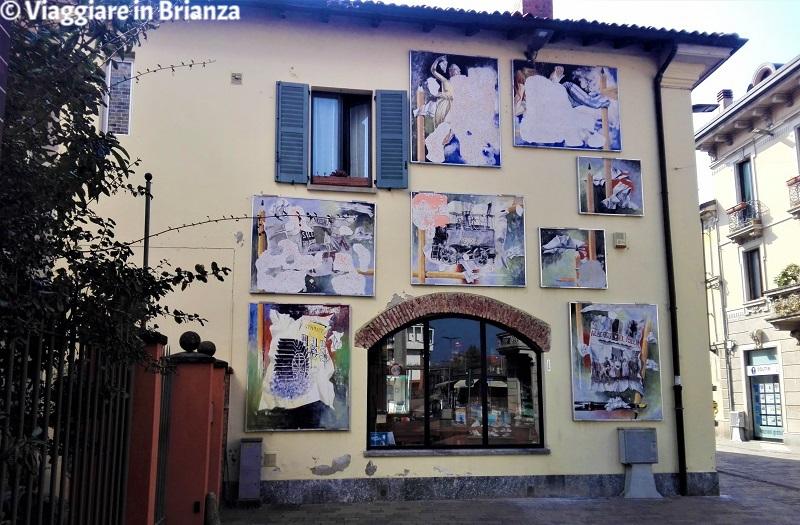 Cosa fare a Villasanta, gli affreschi di Guido Adelio Galimberti