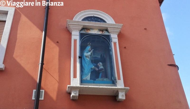 Cosa vedere a Lissone, la Statua della Madonna di Caravaggio