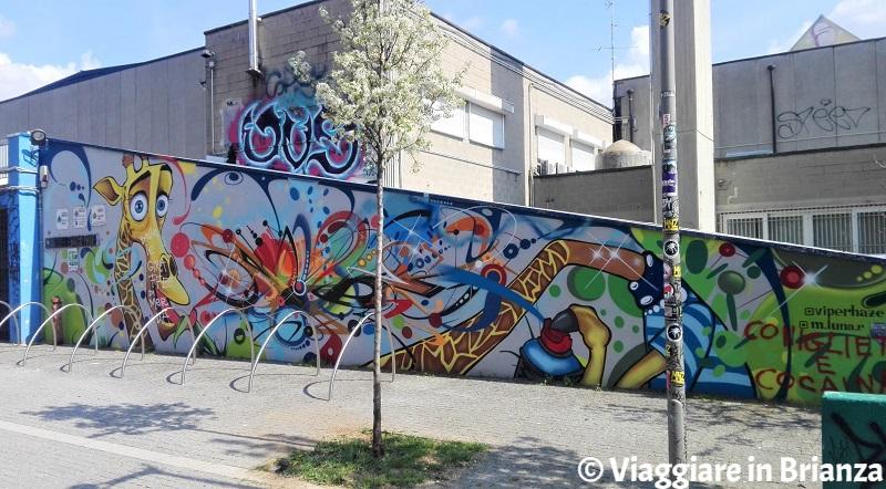 Cosa vedere a Monza, il murales Happy Formula Hour