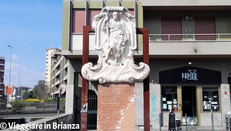 Cosa vedere a Monza, la statua di San Giacomo