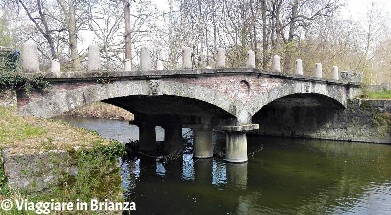 Cosa vedere al Parco di Monza, il Ponte delle Catene