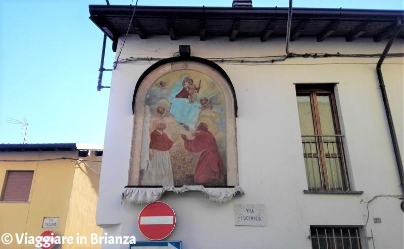 Cosa vedere a Seregno, la Madonna con Bambino tra i Santi Carlo e Francesco