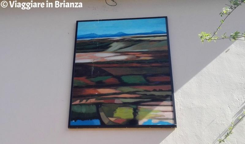 Il dipinto Brianza di Livio Cazzaniga