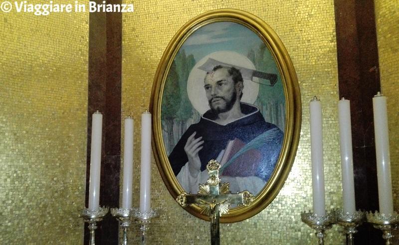 Il dipinto di San Pietro Martire nel Santuario di Seveso