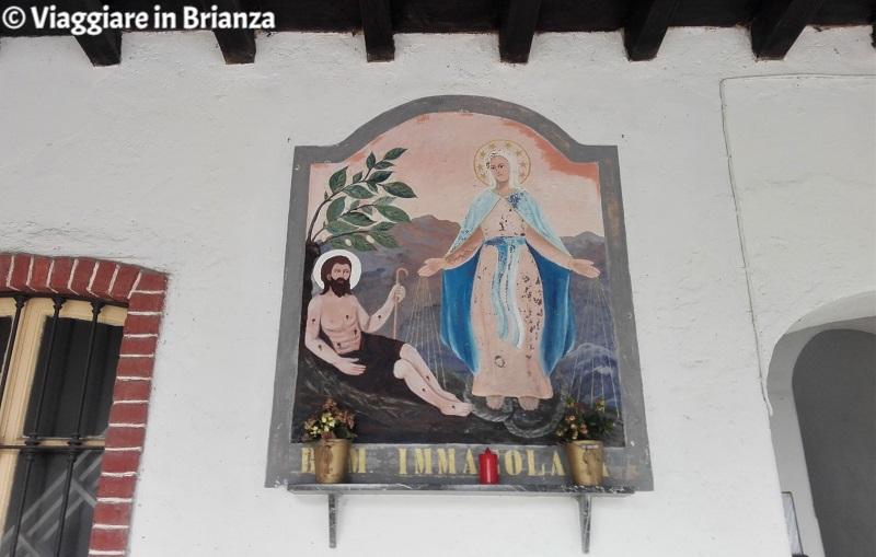 L'edicola della Beata Vergine Immacolata di Cascina Baciolago a Cremella