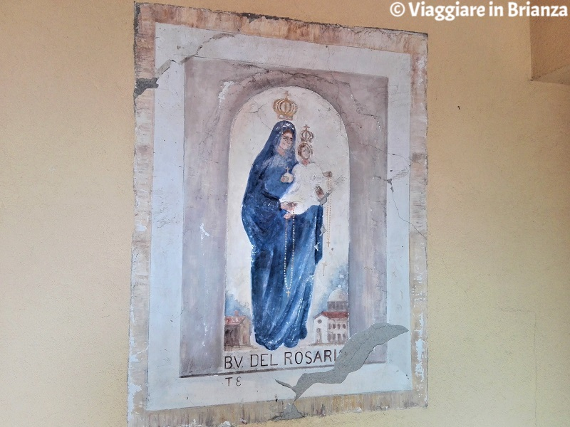 L'edicola sacra di Cascina Montegregorio