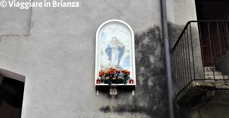 L'effigie mariana di piazzetta Piccola Venezia