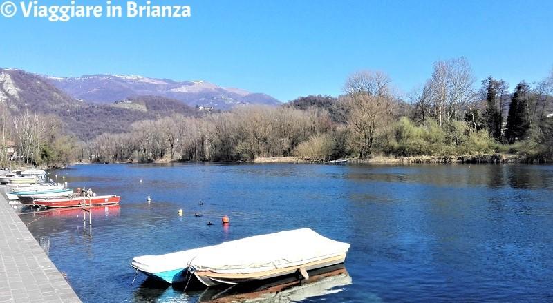 Il fiume Adda a Brivio
