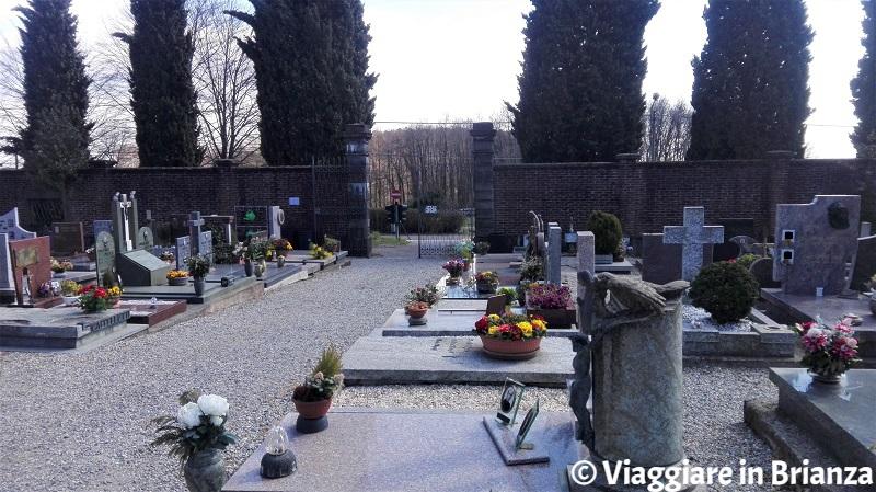 Location cinematografiche in Brianza, il cimitero di Intimiano