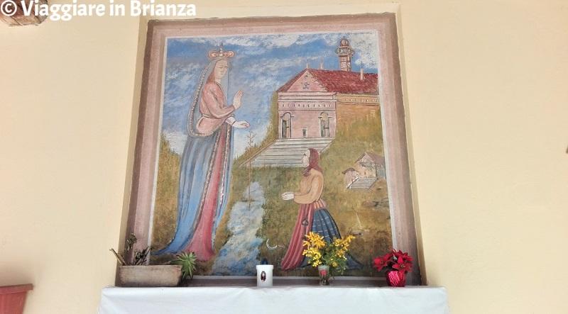 La Madonna di Caravaggio al Castelletto di Capiago