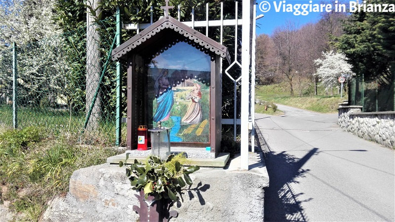 La Madonna di Caravaggio in via al Riscio a Capiago