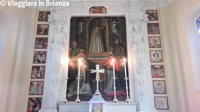 La Madonna di Loreto con i Santi nella Chiesa di Torricella