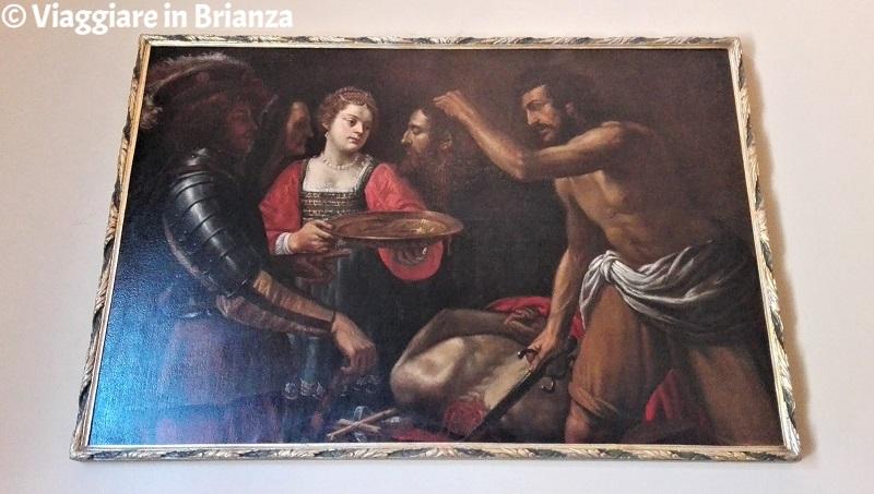 Il Martirio di Giovanni Battista nella Chiesetta di Torricella